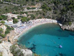 Jávea's La Granadella beach voted the best in Spain