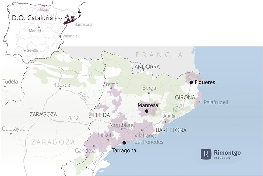 map wineries for sale do catalonia