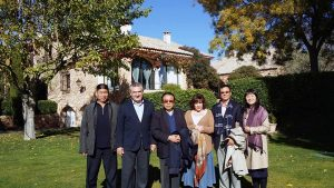 José Ribes with the Chinese investors