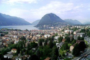 Views of Lake Lugano and Monte San Salvatore
