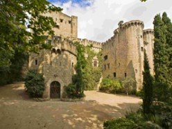 Castillo de Santa Florentina; a real castle in Spain